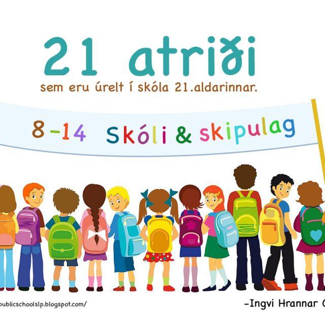 7 atriði sem eru úrelt í skóla 21.aldarinnar