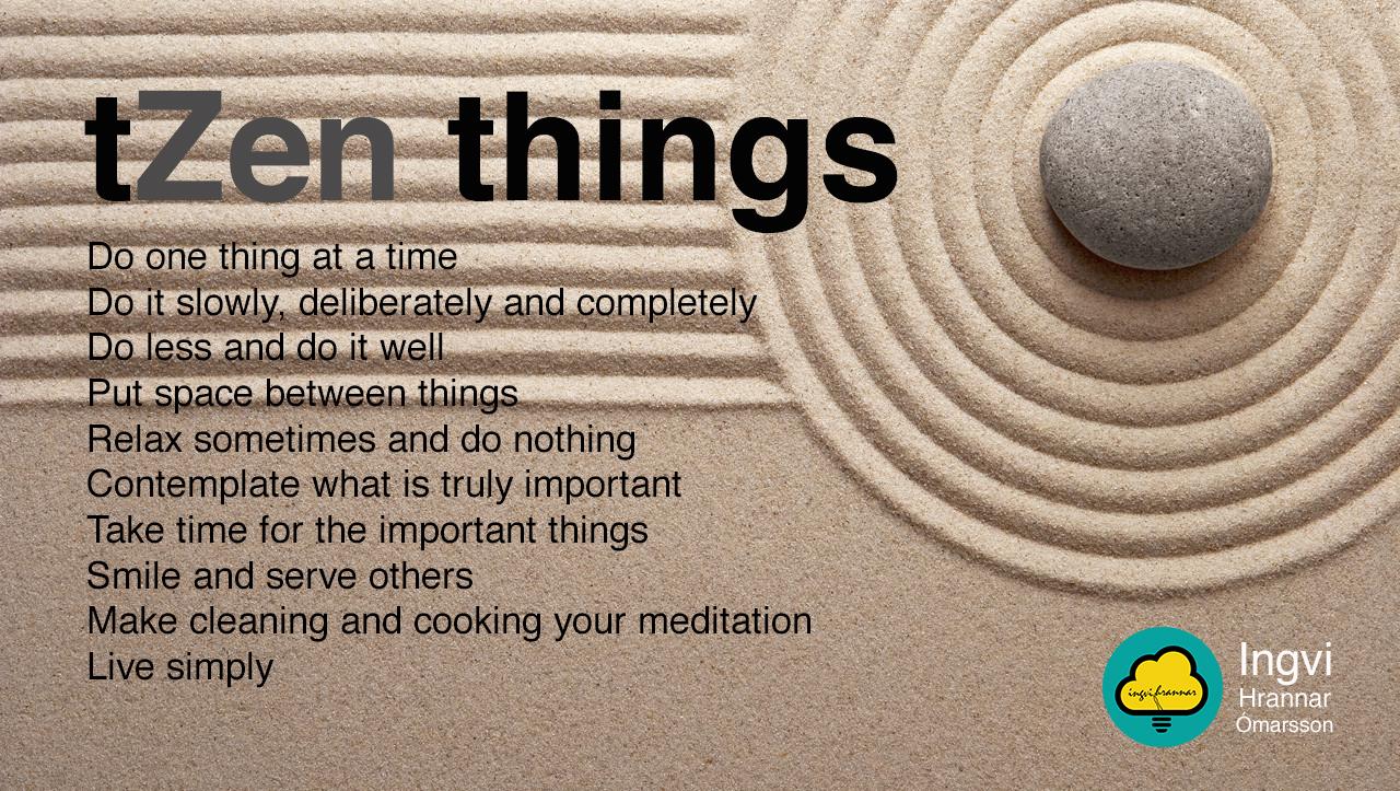 tZen things_ingvihannar